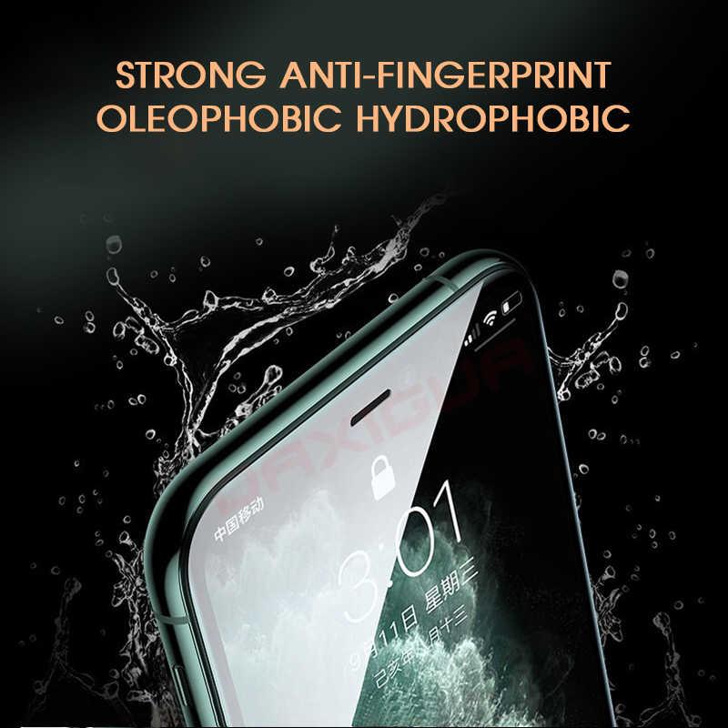 800D フルカバー強化ガラス iphone 11 Pro X XR XS 最大ガラス iphone 11 pro のスクリーンプロテクター保護ガラス iphone 11