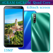 Smartphones globais y5p 4gb ram 64gb rom 13mp 6.0 polegada tela celulares android celulares quad core rosto desbloqueado telefones celulares