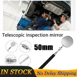 50mm motoryzacja teleskopowe soczewki detekcyjnej kontroli okrągłe lustro wypukłe lustro rozszerzenie kąt widzenia pióro samochód ręczne narzędzia do naprawy