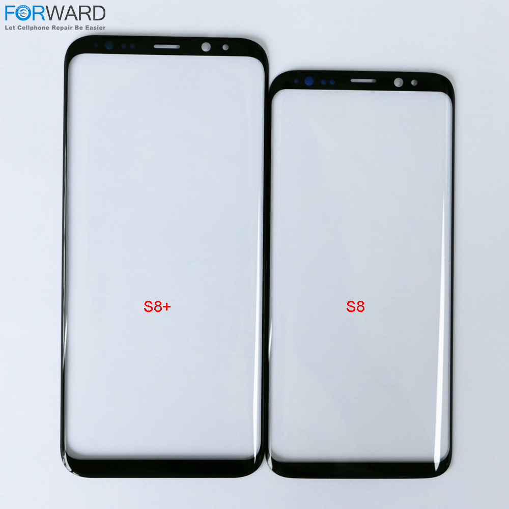 Top Quality Front Touch Screen Outer <font><b>Glass</b></font> Lens For <font><b>Samsung</b></font> <font><b>Galaxy</b></font> <font><b>S8</b></font>+ <font><b>Glass</b></font> <font><b>Replacement</b></font> LCD Refurbished image