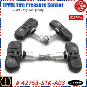 Image 1 - شوان TPMS مستشعر ضغط الإطار نظام الرصد 42753 STK A04 ل أكورا MDX TSX RDX هوندا الطيار 2007 2015 PMV 108G 315Mhz 3.5L