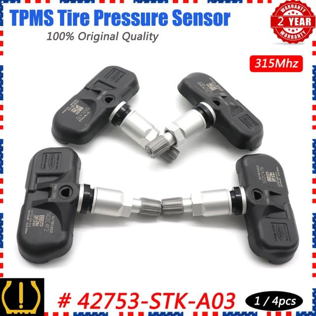 شوان TPMS مستشعر ضغط الإطار نظام الرصد 42753 STK A04 ل أكورا MDX TSX RDX هوندا الطيار 2007 2015 PMV 108G 315Mhz 3.5L