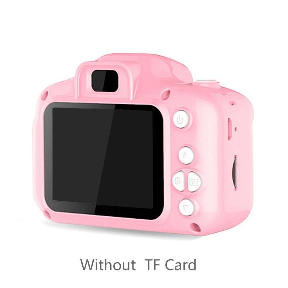 Новейшая Высококачественная Детская Цифровая HD 1080P видео камера игрушки 2,0 дюймов цветной дисплей детский подарок на день рождения игрушки для детей - Цвет: Pink