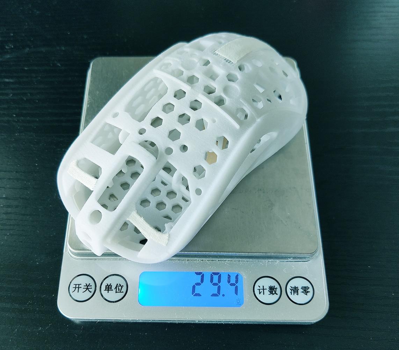 DIY Lightweight Mouse MOD Case For Gamer FPS Zowie Divina S2 Shell With Sidebar E-Sport Custom Made 19g Phantom Refit Hollow Out