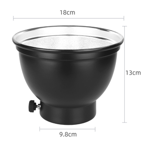 Image 2 - 7 inç 18cm standart reflektör difüzör için petek izgara ile evrensel montaj stüdyo ışığı Strobe flaş K 150A K 180A E250 E300