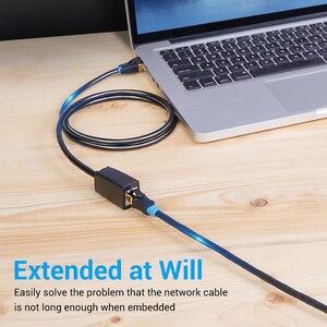 Image 4 - Chính Hãng Vention Cat8 Ethernet Cáp Nối Dài SFTP 40Gbps RJ45 Mở Rộng Dây Adapter Dành Cho Router Modem Máy Tính Cát 8 Ethernet dây Cáp