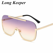 Designer Oversized Visor Shield Sunglasses Women Men Brand G