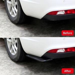 Image 5 - 2Pc Auto Styling Auto Achterbumper Spoiler Accessoires Voor Ford Focus Kuga Fiesta Ecosport Mondeo Escape Explorer Edge Mustang flex