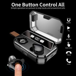 Image 4 - X12 TWS 4000mAh Earphone Stereo Wireless Bluetooth Earphones Headphones Waterproof Earbuds With LED Display with Mic Touch Key