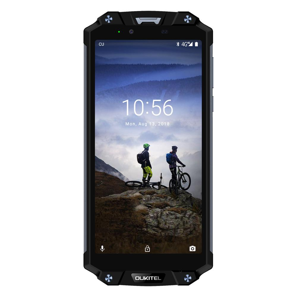 Image 5 - OUKITEL WP2 6.0 Inch Smartphone IP68 Waterproof Mobile Phone 4GB 64GB MT6750T Octa Core Cellphone 10000mAh NFC Quick Charge OTGCellphones   -