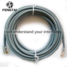 цена на 30m 200m Ethernet Cable Cat6 Lan Cable UTP CAT 6 RJ 45 Network Cable 10m/20m/40m Patch Cord for Laptop Router RJ45 Network Cable