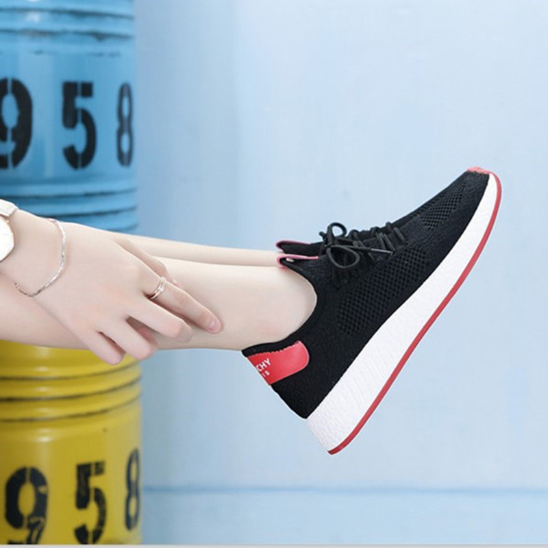 Lightweight Comfortable Lace-up Women's Shoes New Fashion Mesh Women's Vulcanize Shoes Casual Sneakers Zapatos Mujer VT657 (9)