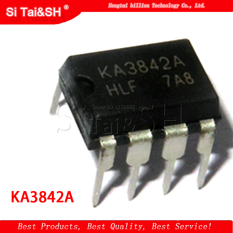 Charger/Supply-Chip Manifold-Line KA3842 Original 10pcs DIP IC Authentic