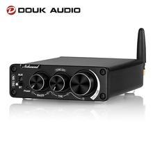 Douk Audio NS15G  Mini Bluetooth 5.0 TPA3116 Digital Power Amplifier HiFi Stereo Audio Sound Class D Amp Bass Treble For Speaker