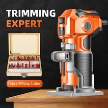 Wood Trimmer Slotting-Machine Laminator Milling Electric