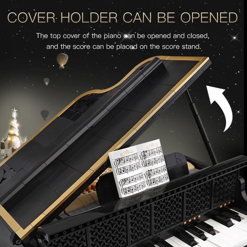 Yeshin The 21323 Playble Grand Piano Set