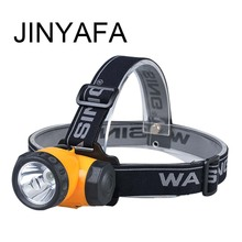 Waterproof LED headlights outdoor camping adventure portable rechargeable night walk riding headlamp