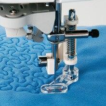 1 шт. многофункциональная вышивка стеганая Штопальная швейная машина аксессуары прижимная вышивка лапка Универсальная