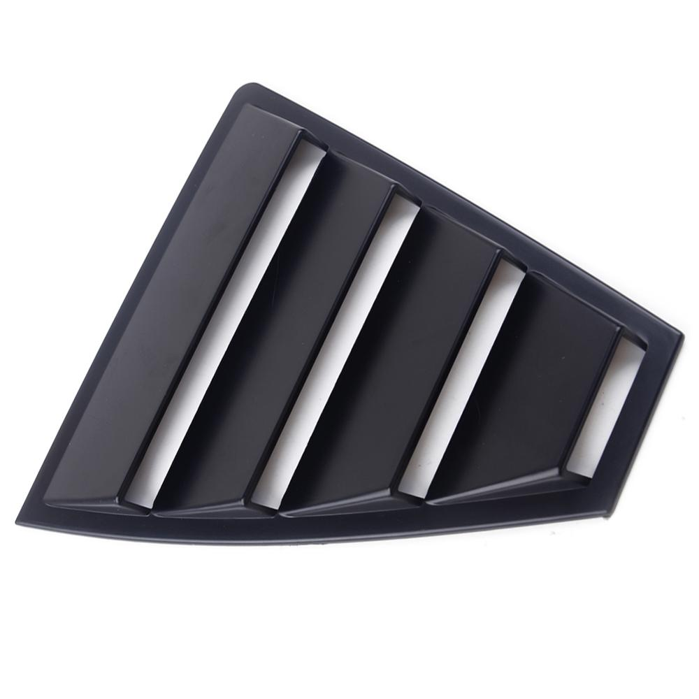Rear Side Window Louvers Vent Cover Panel Trim Fit for Hyundai Elantra 2017-2019