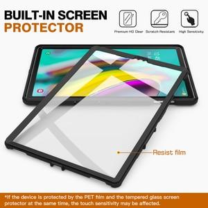 Image 5 - MoKo funda para Samsung Galaxy Tab S5e 2019, [Heavy Duty] a prueba de golpes cuerpo completo Rugged Stand Back Cover Built in Protector de pantalla