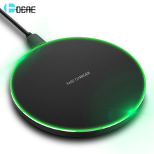 DCAE 10W Qi Wireless Charger Fast Charging Pad For iPhone X XS MAX XR 8 Samsung S10 S9 Huawei P30 Pro Phone USB Quick
