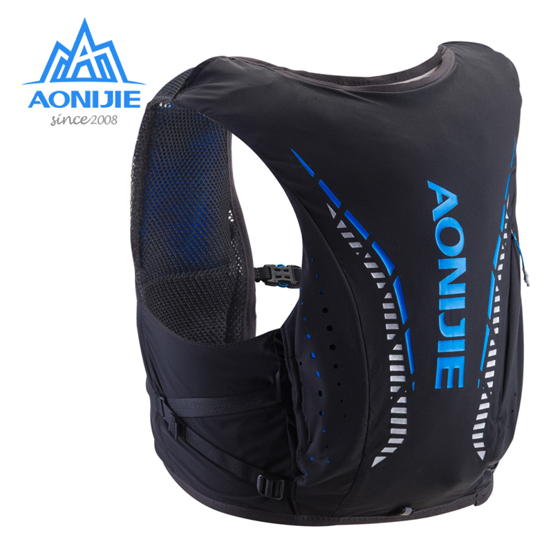 AONIJIE C958 Adv Skin Running Ultra Vest 8L Hydration Backpack Pack Bag Soft Water Bladder Flask For Hiking Trail Marathon Race