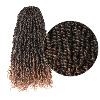Toyotress Pre twisted Passion Twist Braiding Hair Crochet Synthetic Hair Extensions 11strands/pc 20inch