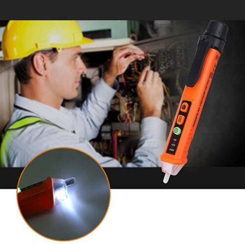 AC/DC Voltage Test Pencil 12V/48V-1000V Voltage Sensitivity Electric Compact Pen Multifunctional Intelligent Test Pen