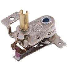 1pc ac 250v 16a ajustável 90 celsius interruptor de temperatura termostato de aquecimento bimetálico KDT-200-random cor