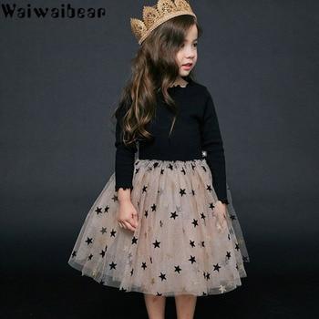 Girls Dresses Costume Chiffon Princess Wedding Dress Kid Children Vestidos Baby Clothes Halloween Christmas Dress 1