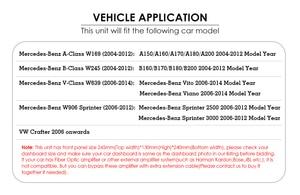 Image 3 - Android 9 2din Auto radio Auto DVD multimedia voor Mercedes Benz B200 EEN B Klasse W169 W245 Viano Vito W639 sprinter W906 WIFI GPS