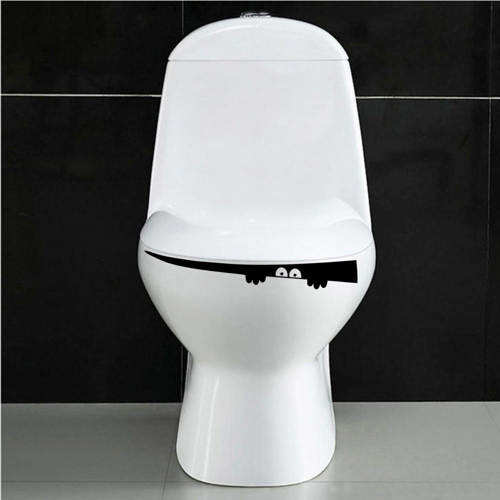 Горячие WC украшения дома аксессуары Настенная Наклейка для туалета ванная комната настенные украшения фрески|Наклейки на стену|   | АлиЭкспресс