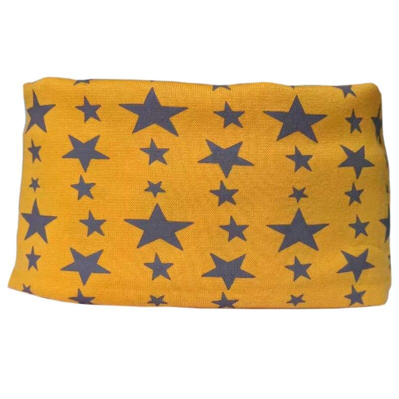 orange star baby scarf