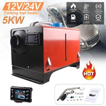 Auxiliary Heater 12V 24V 1-5KW Diesel Heater Websato Eberspacher Automobile Interior Heater Low Noise LCD Car Air Heater