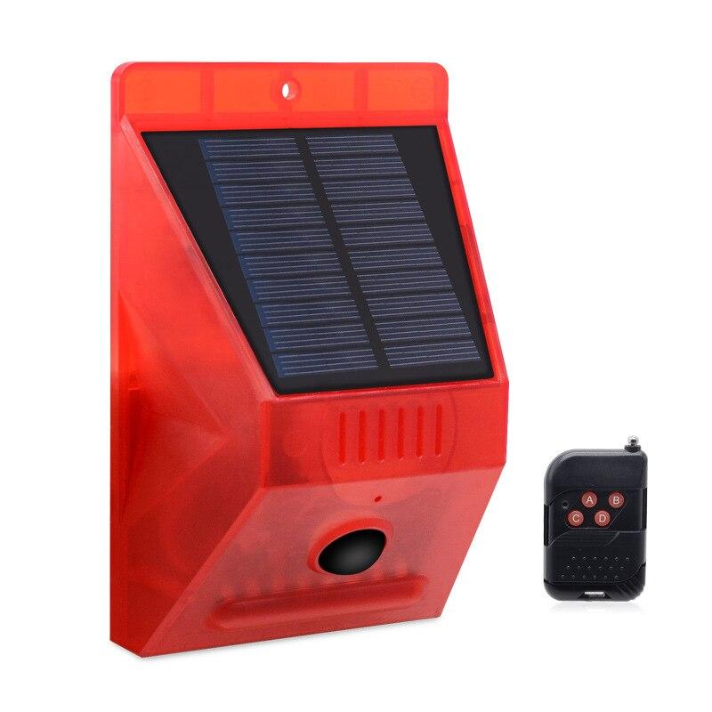 Solar Alarm Lamp 6