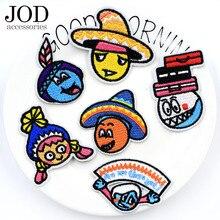 Дети мультфильм патч железа на патчи для одежды малыша вышивки Facke аниме симпатичные наклейки шить одежду знак аппликация