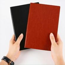 А5 кожаный бизнес ноутбук офис ежедневные заметки Блокнот журнал планировщик сгущает тетрадей школьников канцтовары Д30