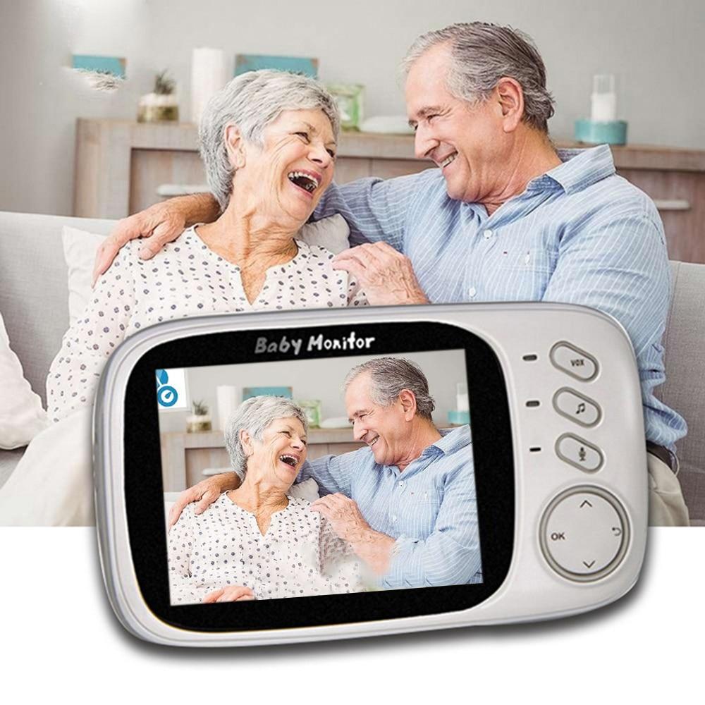 3.2'' LCD Screen VB603 Baby Monitor Wireless Baby Camera With Night Vision Temperature Monitoring Baby Phone Audio Monitor|Baby Monitors|   - title=