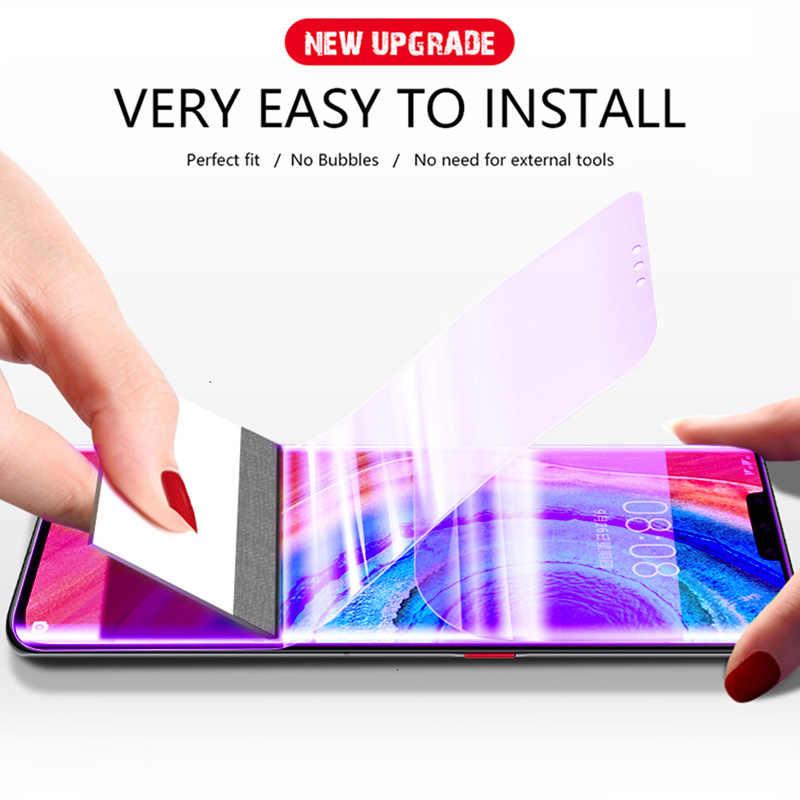 Anti-blau licht Auge Schutz Film Für Huawei P20 P30 Lite Hydrogel Screen Protector Für Taube 10 20 Pro P Samrt 2019 Nicht Glas