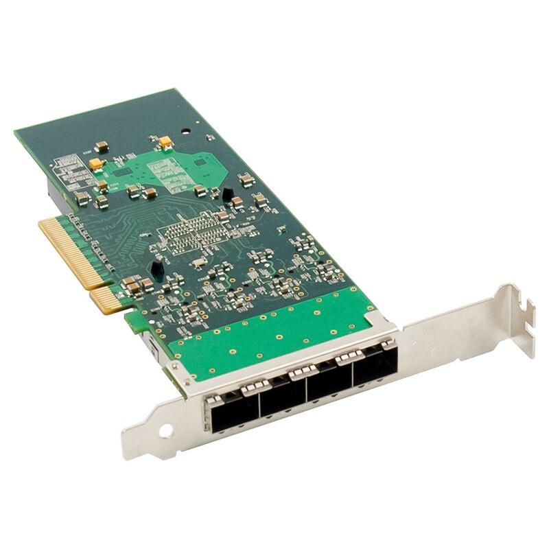 placa de rede optica pci e x8 gigabit 04