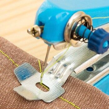 Mini máquina de costura portátil, inalámbrica, Para ropa de mano, Tienda, Departamento Para El Hogar