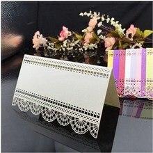 Invitation-Card Table-Decoration Wedding Birthday-Party 25-Openwork