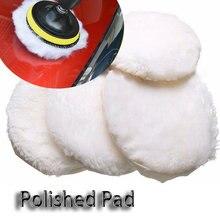 Almohadilla de pulido para máquina pulidora, almohadillas de pulido y encerado para el cuidado de la pintura del coche, 1 unidad