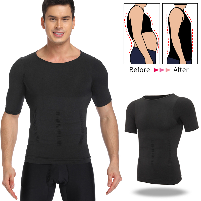 Mens Body Shaper Belly Control Shapewear Man Shapers Modeling Underwear Waist Trainer Corrective Posture Slimming Vest Corset