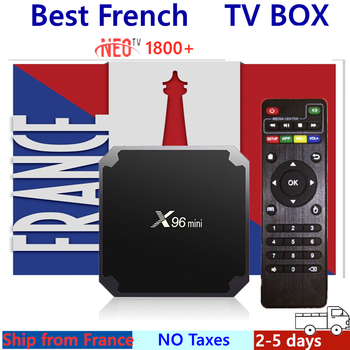 French IPTV Box X96MINI Android Box support IPTV m3u NEO Europe France Arabic Morroco Smart TV Box only not including channels