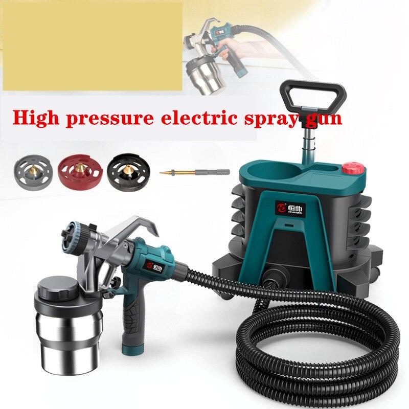 High Pressure Electric Spray Gun Paint Emulsion Paint Spray Gun Household Tools