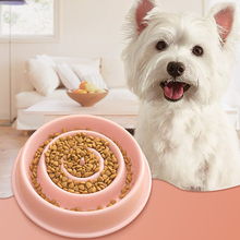Interactive bowl for pet dog Food feeder Slow healthy travel  anti-shock food cat Feeder DropShipping