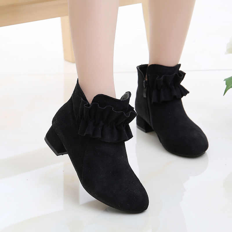 Fashion High Heel Children Shoes For