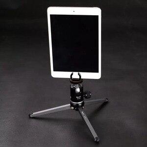 Image 5 - XILETU MT26 + XT15 Hohe Lager Desktop Halterung Mini Tabletop Stativ und Kugelkopf Für DSLR Kamera Spiegellose Kamera Smartphone