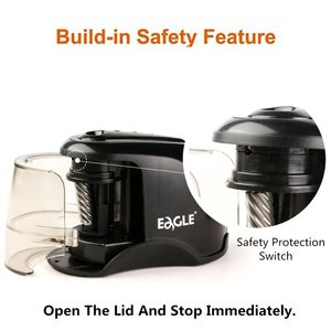 Image 4 - Electric Pencil Sharpener Best Heavy Duty Helical Steel Blade for Artists Kids Adults Colored Pencils